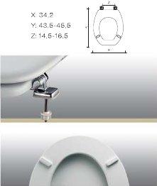 Copriwater ellisse piu ideal standard carrara matta for Copriwater ellisse ideal standard