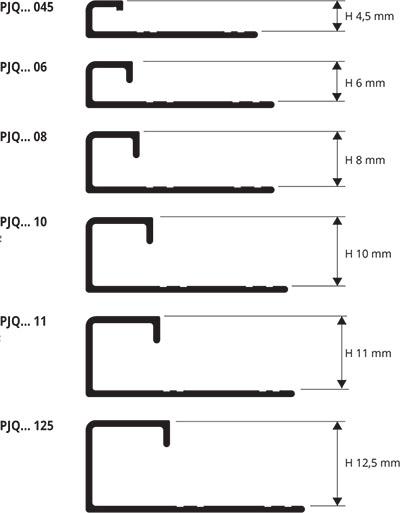 Profilo angolare jolly per piastrelle rivestimento - Profili jolly per piastrelle ...