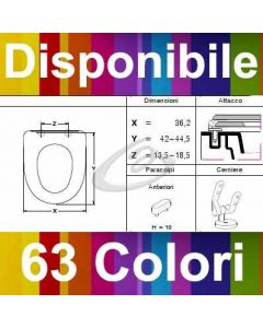 COPRIWATER A1 CIFIAL - DISPONIBILE IN 63 COLORI - MADE IN ITALY