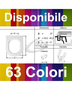 COPRIWATER DOLOMITE ASOLO - DISPONIBILE IN 63 COLORI - MADE IN ITALY