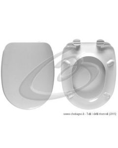 CONFORMA VITRA SEDILE WC TERMOINDURENTE COPRIWATER BIANCO MADE IN ITALY
