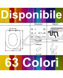 COPRIWATER LIGHT VALADARES - DISPONIBILE IN 63 COLORI - MADE IN ITALY