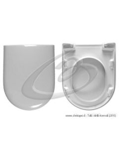OMNIA ARCHITECTURA VILLEROY BOCH SEDILE WC TERMOINDURENTE COPRIWATER AVVOLGENTE BIANCO MADE IN ITALY