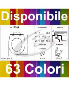 COPRIWATER SORRENTO SHIRES - DISPONIBILE IN 63 COLORI - MADE IN ITALY