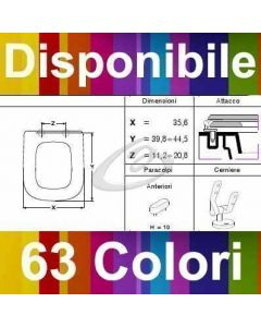 COPRIWATER TEOREMA SCARABEO - DISPONIBILE IN 63 COLORI - MADE IN ITALY