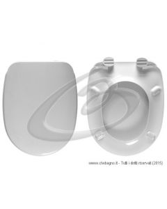 ZOOM ROCA SEDILE WC TERMOINDURENTE COPRIWATER BIANCO MADE IN ITALY