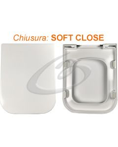 Copriwater soft-close Traccia GSI