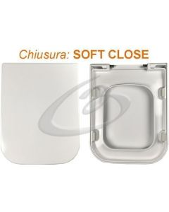 Copriwater Advance Sanindusa Termoindurente Soft Close Chiusura Rallentata