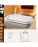 Copriwater ideal standard conca disponibile in 63 colori for Ideal standard conca prezzo